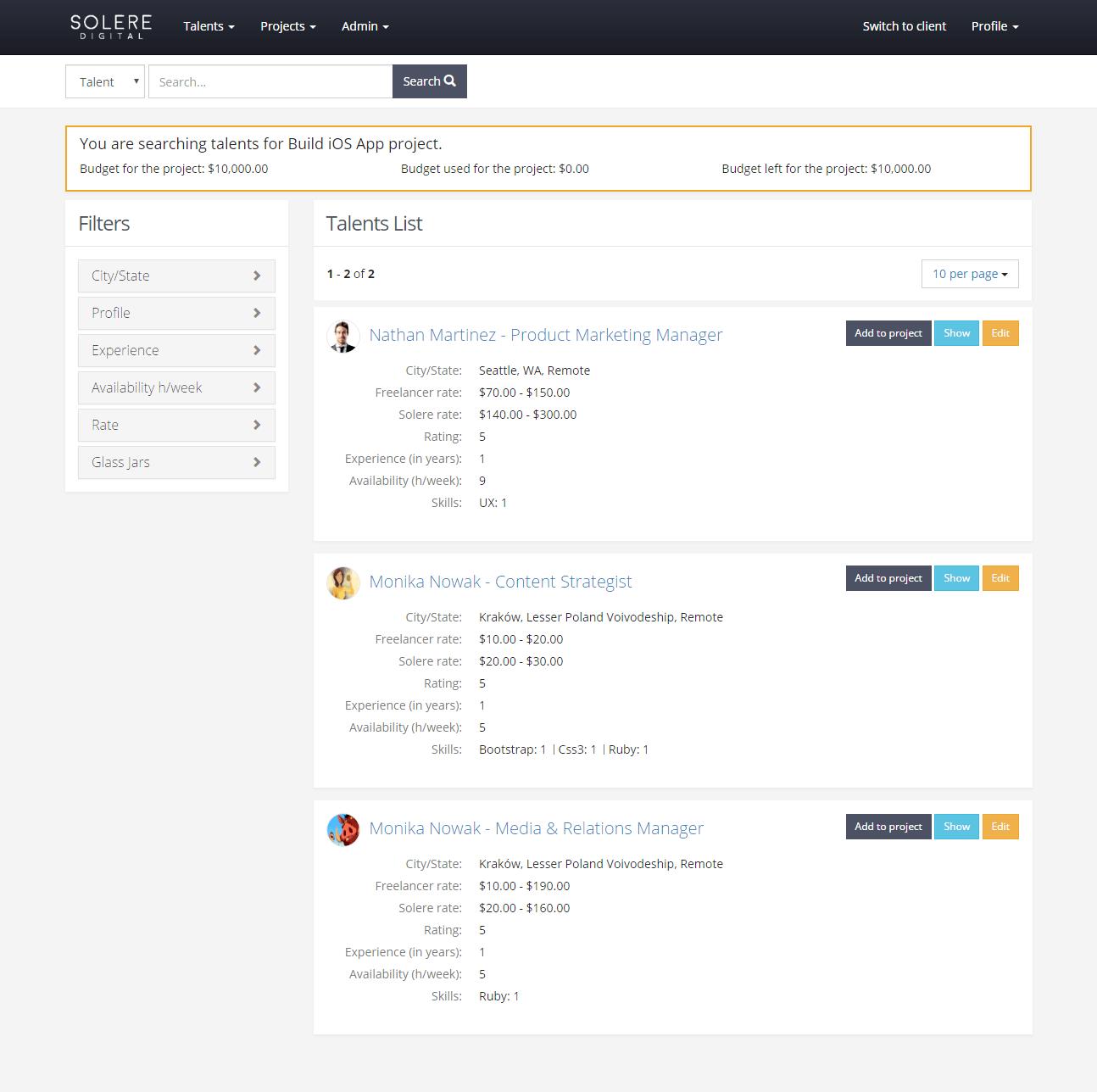 screen1_solere_talent_management_tool