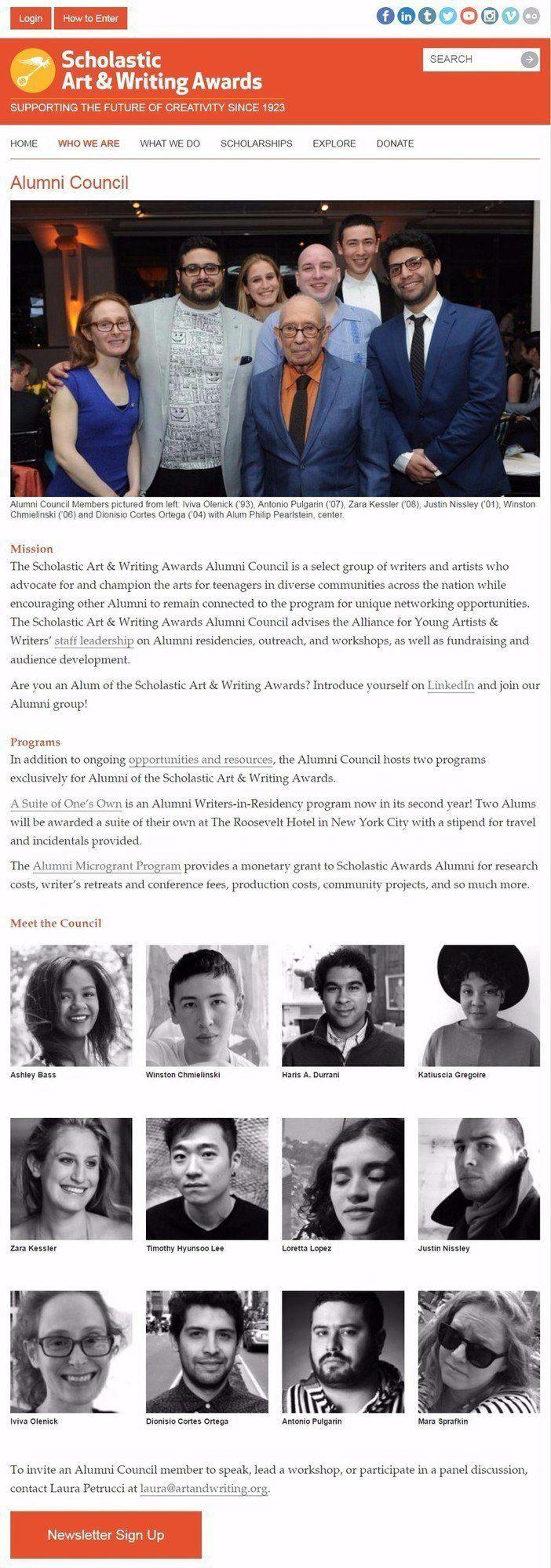 alliance-art-and-writing-awards-screenshot
