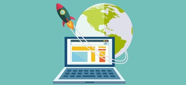 website rocket performance