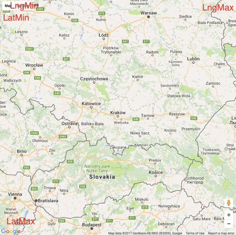 Screenshot presenting Google Map for Airbnb Map tutorial