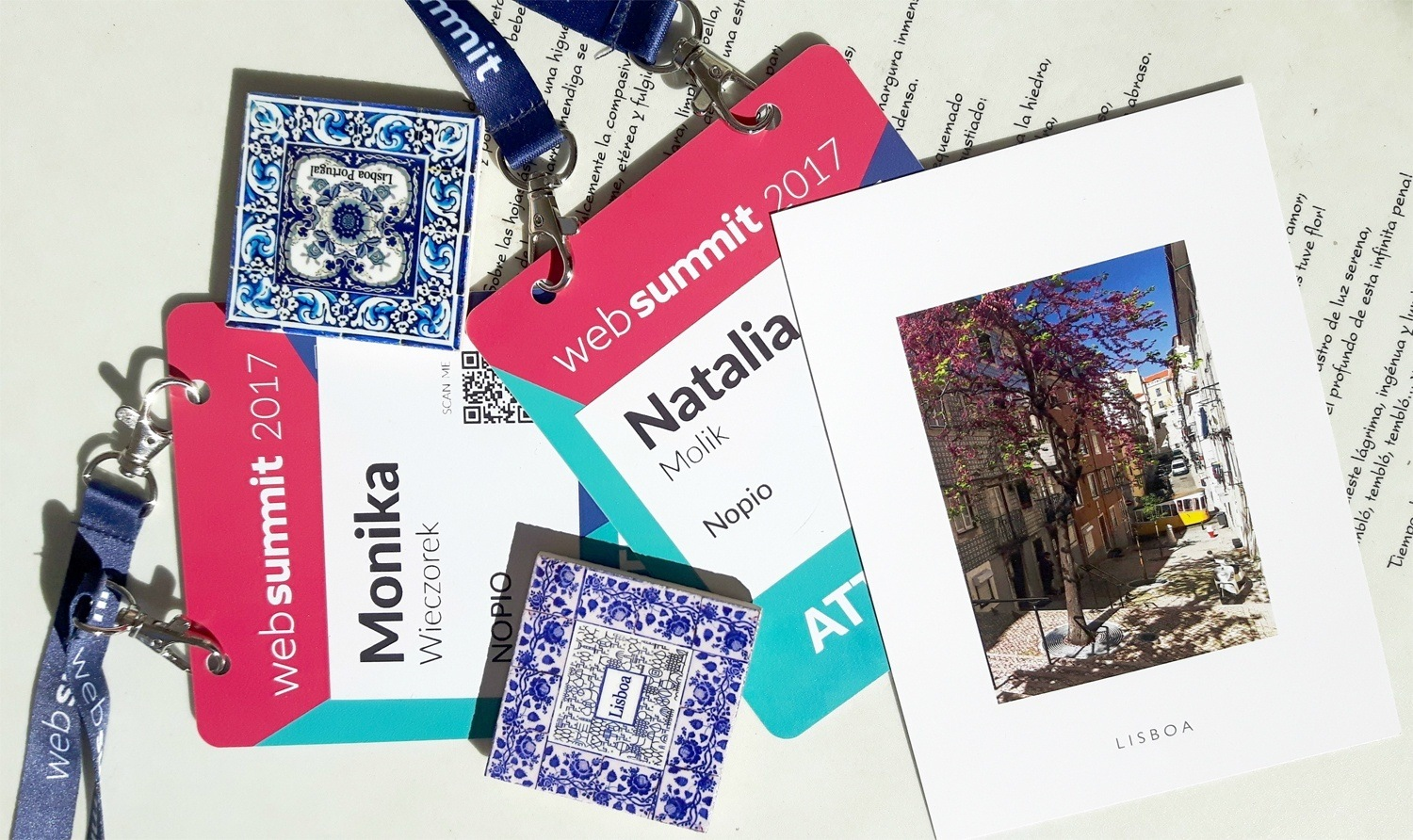 Web Summit Lisbon 2017 Badges