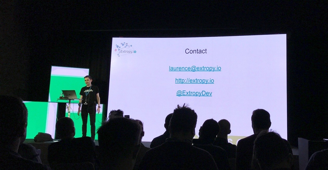Photo from Code Europe Conference 2017 in Kraków